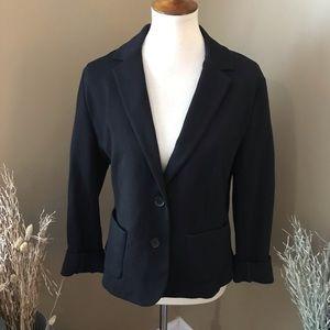 Ann Taylor Basic Black Blazer Size 12